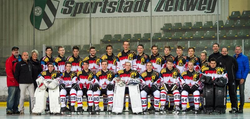 Landesliga Mannschaftsfoto 2016/17 by Lucas Pfripfl