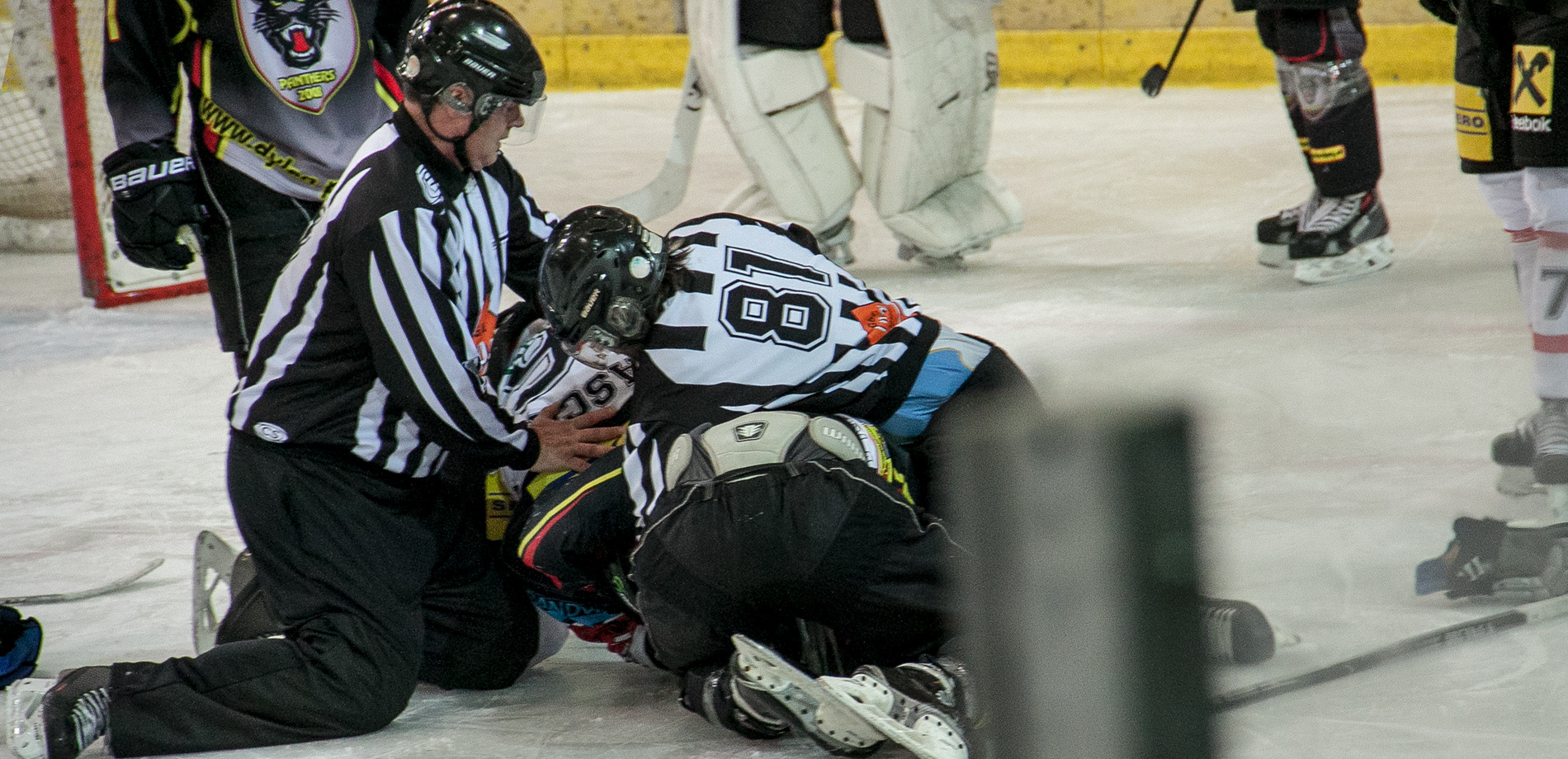 Alexander Draschl EV Zeltweg Murtal Lions im In-Fight