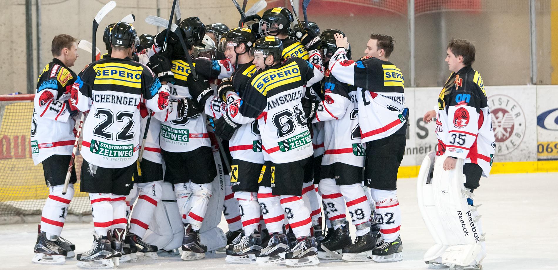 EV Zeltweg Murtal Lions II Gewinnen gegen die Rangers Langenwang 8:7 n.P.