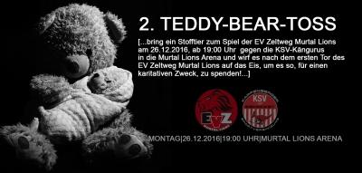 2. Teddy Toss bei den Murtal Lions am 26.12.2016
