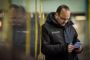 EV Zeltweg Head Coach und Löwendompteur Michael Pollross by Lucs Pripfl