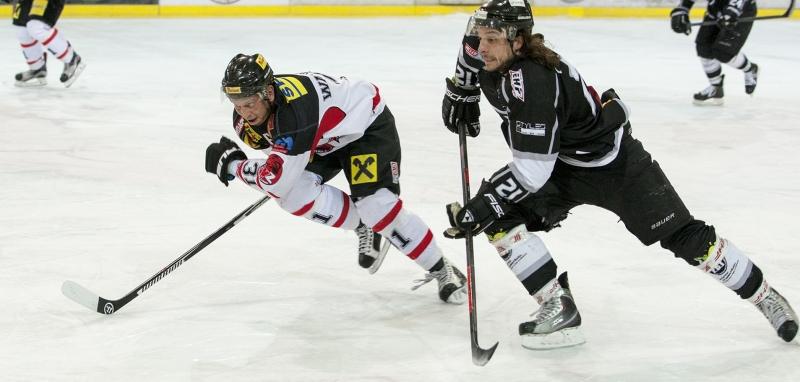 Dominik Walchshofer im Duell mit Hannes Rohrer