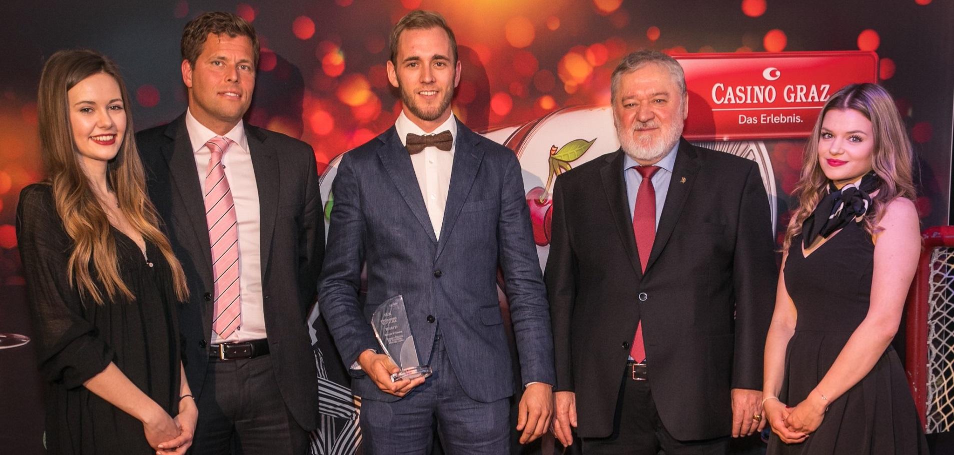 Robert Koller bester Spieler 2016/2017