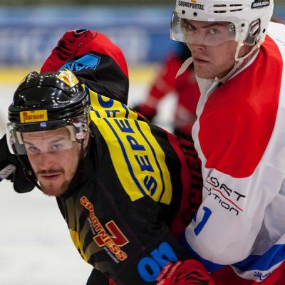 ATSE Graz gegen EV Zeltweg Murtal Lions Meisterschaftsspiel in Graz Liebenau