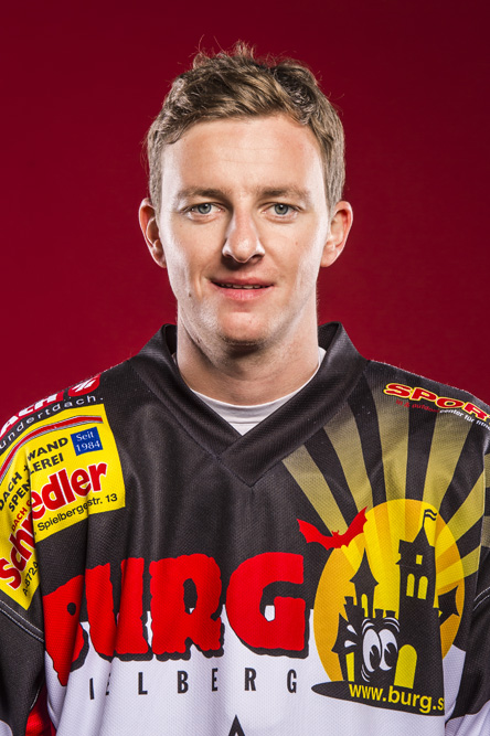Daniel Ehgartner Kapitän der EV Zeltweg Murtal Lions II