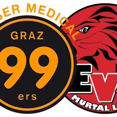 Graz99ers II vs EV Zeltweg Murtal Lions
