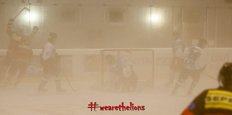 Kaum Sicht in der Nebelhalle von Frohnleiten