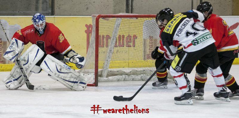 Andreas Forcher mit einem seiner fünf Treffer