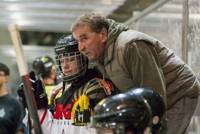 Head Coach Landesliga Klaus Schlaffer bei der Arbeit