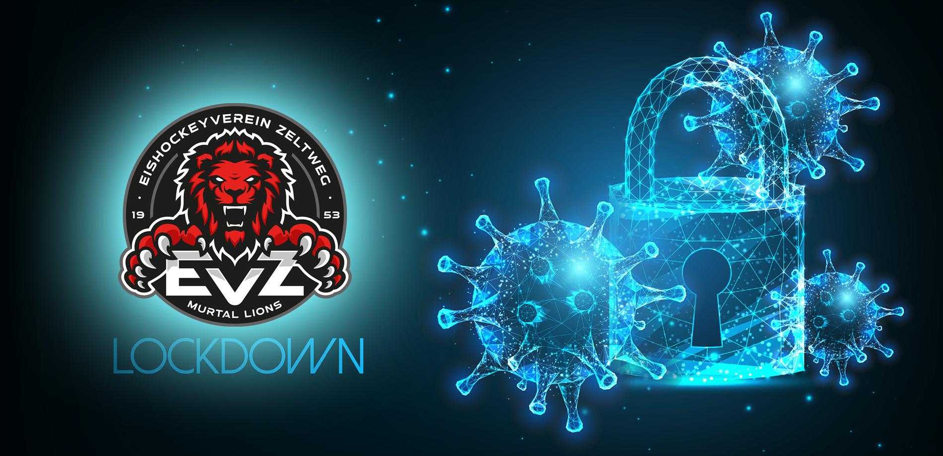 Spiele sind wegen Lockdown ausgesetzt